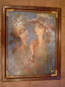 díszített képkeret képkeretezés www.kepmalom.hu fotó 1